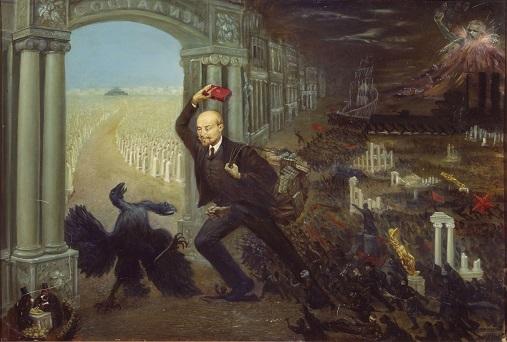 Ленин с авоськой
