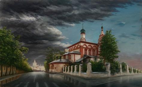 На Хитровке. После дождя