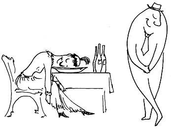 Дюжина стаканов в спину этикета