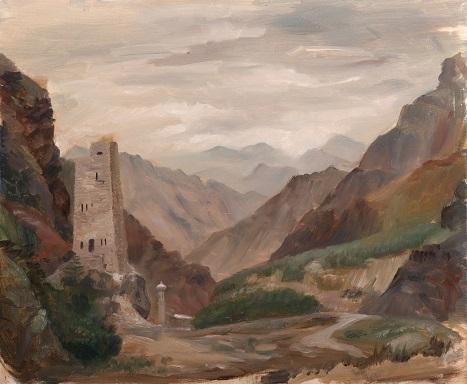 Аварская башня