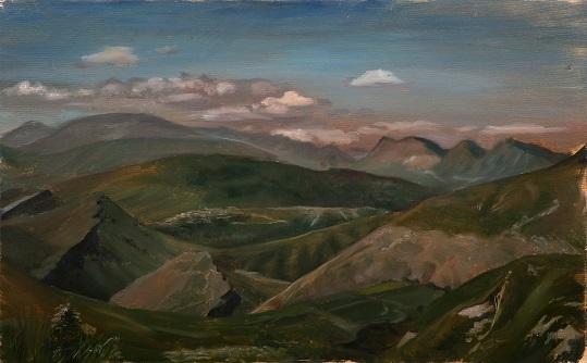Горы. Дагестан