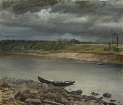 Моя лодка на Онеге