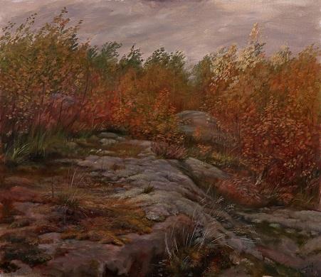 Осень. Мхи на Змеиной горке
