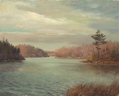 Озеро у Змеиной горки