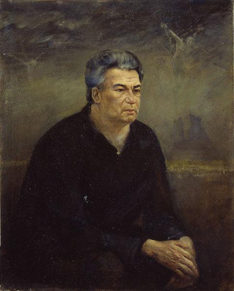 Портрет писателя Чингиза Торекуловича Айтматова