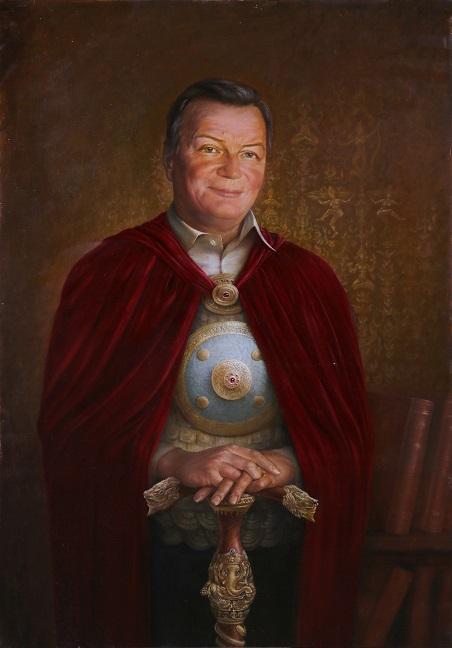 Портрет Владимира Александровича Аксёнова