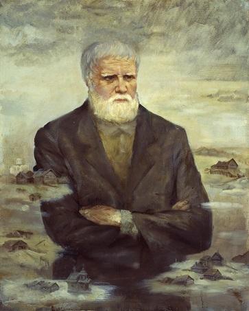Портрет писателя Белова Василия Ивановича