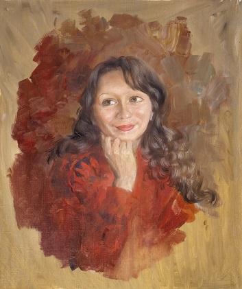 Портрет Эли Фахрутдиновой