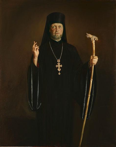 Портрет архимандрита Иеронима