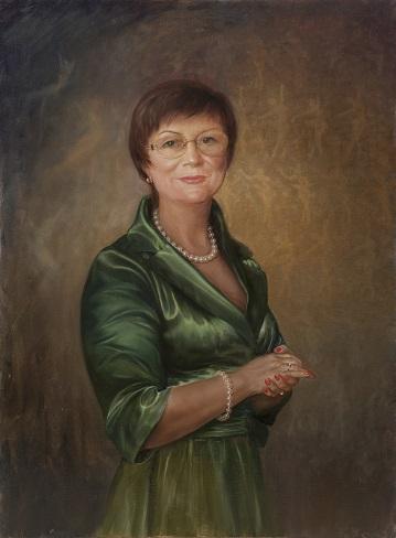 Портрет неизвестной дамы