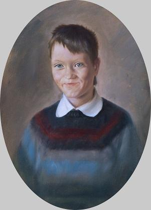 Портрет Коли