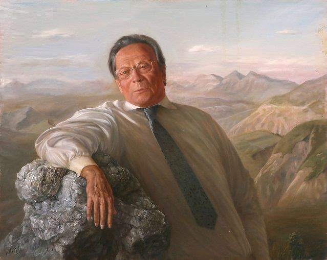 Портрет Николая Павловича Лавёрова