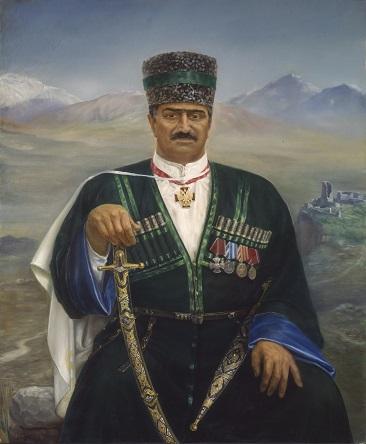Портрет Гаджи Махачева