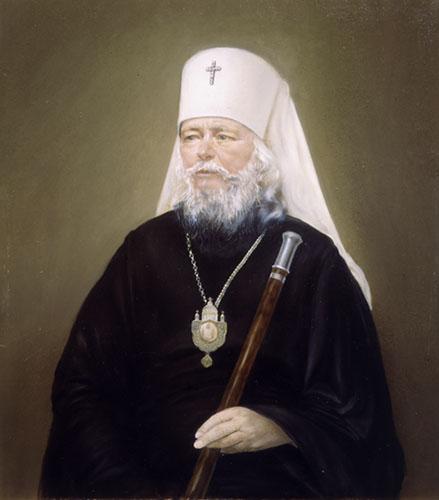 Портрет Митрополита Санкт-Петербургского и Ладожского Иоанна