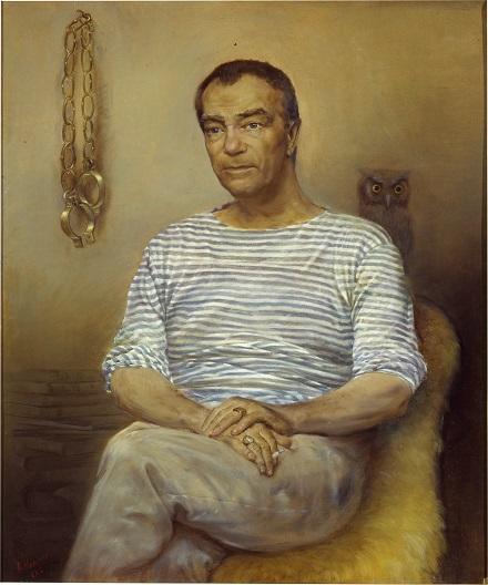 Портрет писателя Пикуля Валентина Саввича