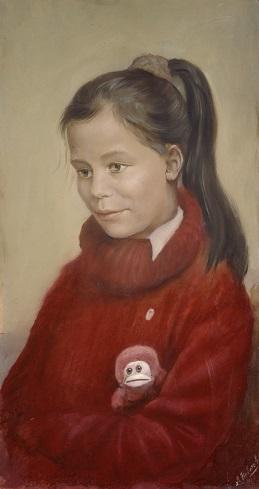 Портрет Ирочки Плотниковой