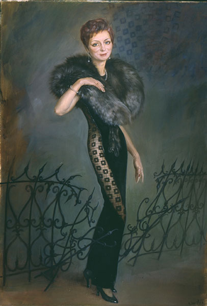 Портрет Тани Романенковой