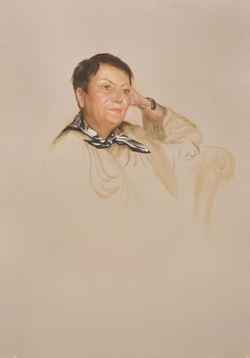 Портрет искусствоведа Татьяны Петровны Тишиной