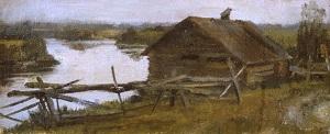 Банька над рекой