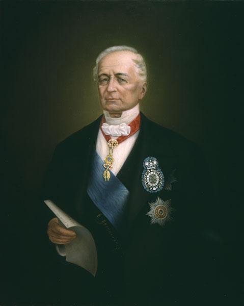 Портрет канцлера Российской империи князя А.М.Горчакова