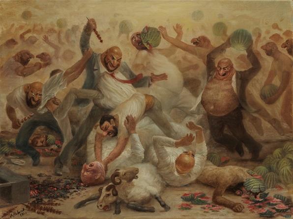 Битва шашлычников с арбузниками
